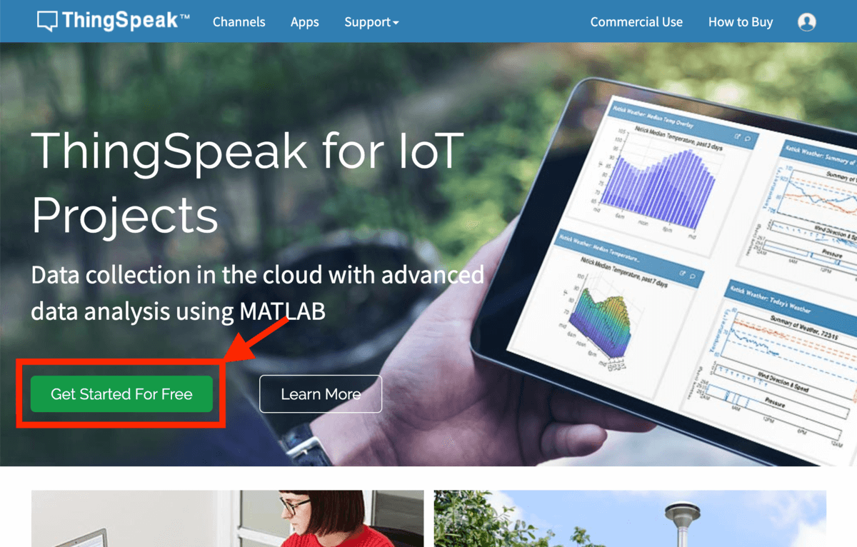 /images/projects/thingspeak-IoT/thingspeak-start.png - Logo